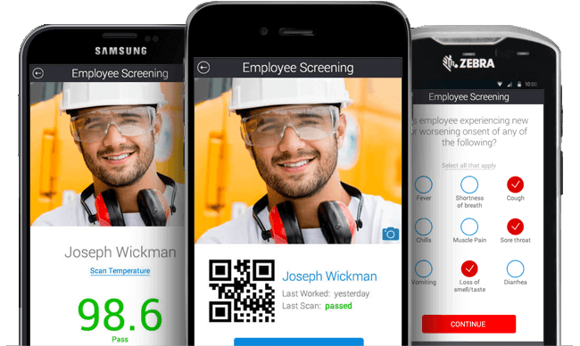 Stay safe, improve compliance & avoid fines with our COVID-19 Back to Work App