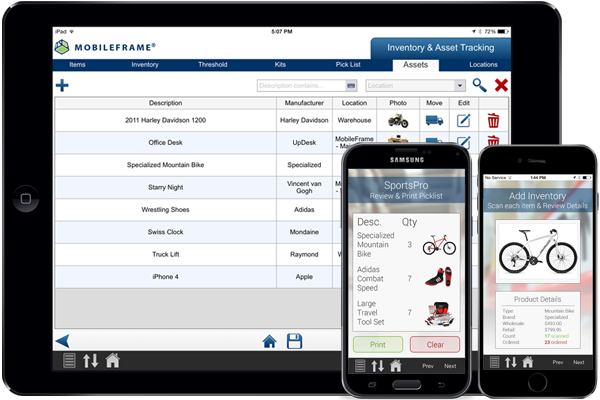 Inventory Management Software Mobileframe