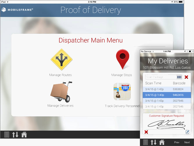 Proof of Delivery Software, POD Software